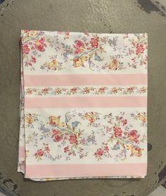RARE 100% Doeskin Vintage Ralph Lauren Millicent Pink King Pillowcase ~ Chic~ #RalphLauren #ShabbyChicCottage