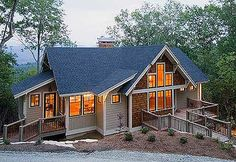 Plan W26666GG: Cottage, Mountain, Sloping Lot, Craftsman, Vacation, Narrow Lot, Photo Gallery House Plans & Home Designs