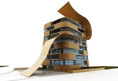 Maurizio Favetta - building apartments - Kish Island - Iran Iran, Apartments, Building, Outdoor Decor, Buildings, Flats