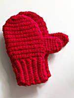 Crochet mittens 2T - 7 Family Mittens