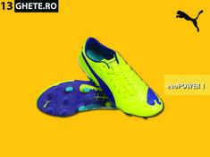 Purtate de jucătorii care vor putere și precizie, ghetele de fotbal Puma evoPOWER 1 FG sunt concepute special pentru a îmbunătăți randamentul în pozițiile ofensive.  #puma #evopower #evopower1 #pumafotbal #pumafootball Puma Football, Cleats, Shoes, Fashion, Football Boots, Moda, Zapatos, Cleats Shoes, Shoes Outlet