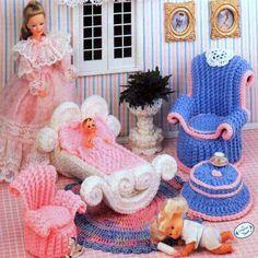 Vintage Crochet Pattern PDF Fashion Doll por ToysWereUsPatterns