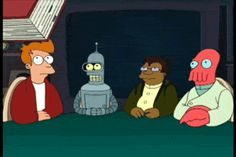 didn't read, Futurama, not reading, tldr