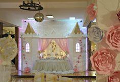 Bombonica events: Đurđina - slatki sto i dekoracija prostora za prvi rođendan Pink Princess Party, Disney Princess, Princess Party Decorations, Candy Cart, Julia, Photo Galleries, Frame, Home Decor, Reign Bash