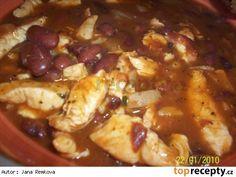 Mexický kuřecí guláš