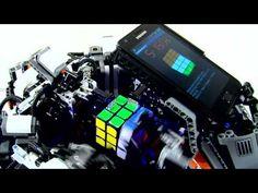 LEGO Mindstorms + Samsung Galaxy S = CubeStormer II