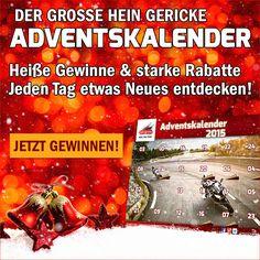 Heute startet der große #HeinGericke #Adventskalender . Jetzt entdecken!