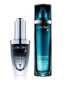 Lancome Genifique and Visionnaire free samples.