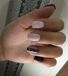 Elegant Gel Nail Art Designs for 2019 - style you 7 Love Nails, Fun Nails, Milky Nails, Nailart, Gel Nail Art Designs, Super Nails, Nagel Gel, Trendy Nails, Classy Nails
