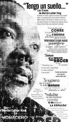 Sostener un sueño, parece una tarea muy complicada, cuando al hacerlo debes luchar contra todo un mundo, estas son las frases de Martin Luther King.