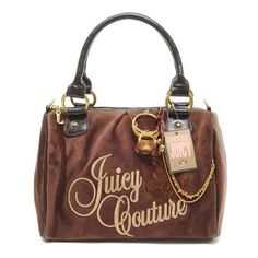 Juicy Couture Ring Bling Madge Handbag Coffee