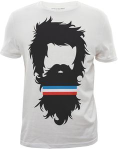 """""""HIPSTER SWEATBAND"""" graphic tshirt designed for Bluenotes."""