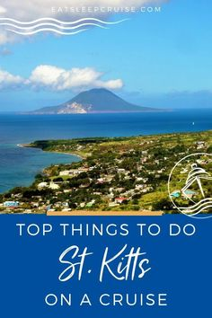 If you are looking for an epic cruise destination then look no further! Exploring the Caribbean Islands is often one of the top reasons for cruising. If you are lucky enough to have St. Kitts as your cruise port, here's what you need to plan your itinerary. Here are things to do on the island, how to enjoy the culture and views, what to do, not to miss activities and much more. From hiking Mt. Liamuiga to ziplining just to name a few. Check out our post to help you plan your St. Kitts Vacation. Best Cruise, Cruise Port, Cruise Travel, Cruise Vacation, Cruise Tips, Italy Vacation, Vacation Ideas, Southern Caribbean Cruise, Royal Caribbean Ships