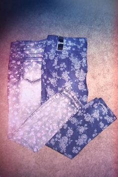 Floral Print Jeans for this coming fall!  Mossimo from Target and Rewash from Fred Meyers