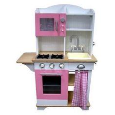 non cheesy kitchen for willa pinterest preschool kitchen center rh pinterest com Wooden Play Kitchen From Target Kitchen Table Brown Target