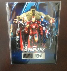 SEALED Marvel The Avengers Classic Senitype collectible FILM CEL