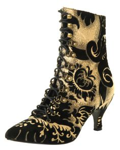 Victorian steampunk, dated, modern, or mixed era, gorgeous, could be on a wealthy character or as a twist to a tomboy that happens to like running around in fancy heels