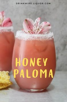 This variation of the Paloma is refreshing and sweet, making it a great cocktail perfect for any occasion. Combine tequila, honey, and grapefruit juice and you have a delicious spring and summer cocktail. Cocktails Tequila Drinks We Love: The Honey Bee Refreshing Cocktails, Summer Drinks, Cocktail Drinks, Cocktail Sauce, Cocktail Movie, Cocktail Attire, Cocktail Shaker, Cocktail Dresses, Cocktail Tequila