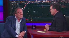 Stephen Colbert grilling Oliver Stone about Putin is excruciating to watch