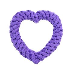 Jax and Bones Purple Heart Dog Rope Toy *** Check this awesome product by going to the link at the image.