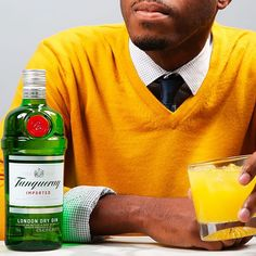 Fall = good style and even better gin. #Tanqueray #gin