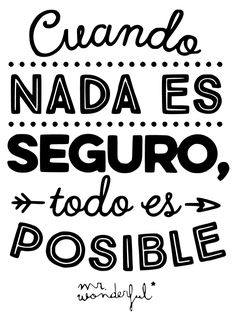 Brush Lettering, Hand Lettering, Motivational Phrases, Inspirational Quotes, Best Short Quotes, Business Coach, Classroom Posters, Spanish Quotes, Monday Motivation