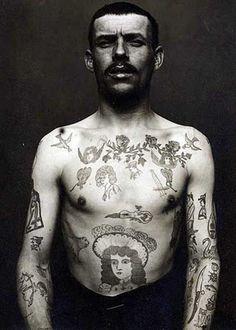 Vintage tattooing