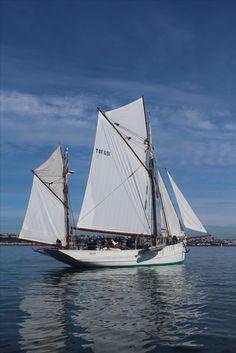 classic Breton fishing boat