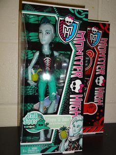 Monster High Gil Webber NRFB #doll #MonsterHigh