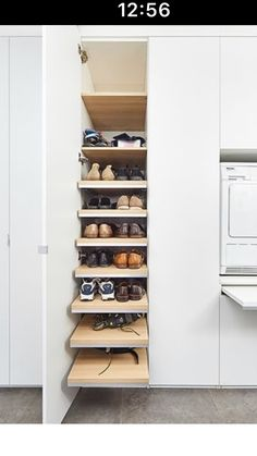 Shoe Rack, Loft, Modern, Cupboard Shelves, Trendy Tree, Shoe Racks, Lofts, Attic Rooms, Attic