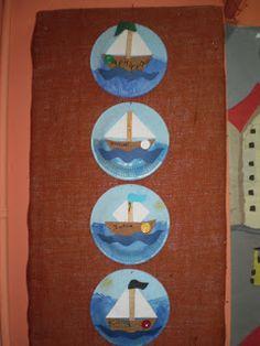 5ο Νηπιαγωγείο Τρίπολης: Καλοκαιρινές κατασκευές 2012 Decorative Plates, Blog, Home Decor, Blue Prints, Water, Decoration Home, Room Decor, Interior Decorating