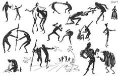 Matt Jones: Gesture Drawing