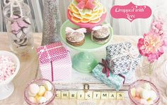 lovely pastel wrapping