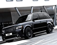 Queen's Jubilee special:The-Westminster-Black-Label-Edition-by-A-Kahn-Design- Range Rover Black, Range Rover Sport, Range Rovers, Hummer H2, Cadillac Escalade, My Dream Car, Dream Cars, Range Rover Schwarz, Supercars