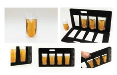 beer on the go Beer Brands, Beer Packaging, Food Design, Package Design, Bottles, Branding, Bar, Brand Management, Packaging Design