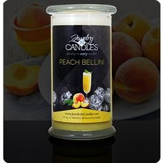 Jewelry In Candles  Peach Bellini Candle * Details can be found by clicking on the image.  This link participates in Amazon Service LLC Associates Program, a program designed to let participant earn advertising fees by advertising and linking to Amazon.com.