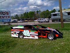 Dirt track modified race car