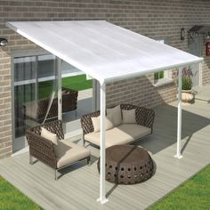 Found it at Wayfair - Feria™ 10ft. H x 10ft. W x 10ft D Patio Cover Awning