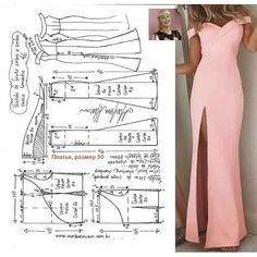 Schnittmuster / Sample Nation House Adorning When selec Fashion Sewing, Diy Fashion, Ideias Fashion, Fashion Outfits, Moda Fashion, Long Dress Patterns, Dress Making Patterns, Sewing Clothes, Diy Clothes