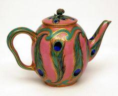 Jean Pierre Le Doux, Teapot, 1758. Sevrès Porcelain, France. Via The Bowes Museum, England.