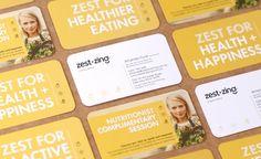 Zest+Zing Brand Name & Brand Identity Design