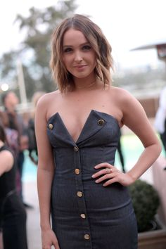 """Camilla Luddington attends the """"Fresh Faces"""" party hosted by Marie Claire http://celebs-life.com/camilla-luddington-attends-fresh-faces-party-hosted-marie-claire/  #camillaluddington"""