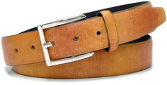 Ledergürtel Mode, bunt Braun und Honig - Acciaio