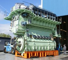 Commercial Ship Engine
