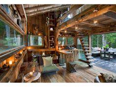 Yulan, New York - internoUna vista del salotto/cucina... . Foto-gallery e immagini - IO donna