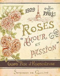 French Seed Packet I Art Print at AllPosters.com