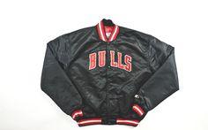f618fbd0b Vintage Starter Chicago Bulls Satin Bomber Jacket Sz XL – F As In Frank  Vintage