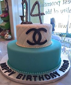 Lee and Marie's Cakery. Chanel birthday cake!