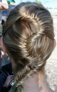 LOVE THE BRAID?! Get it at BELLA! For this and other great pictures check out www.BellaBeautyCollege.com