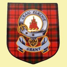 Scottish Clan Lapel Pin Badge Grant Gaelic